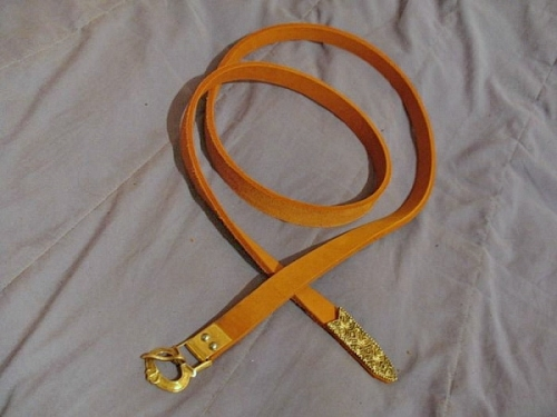 Rus leather belt, 12 c.   RBS01