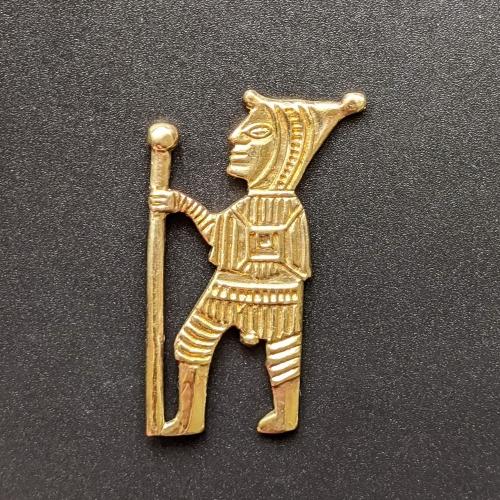 "M28 Medieval double-sided badge ""Pilgrim"""