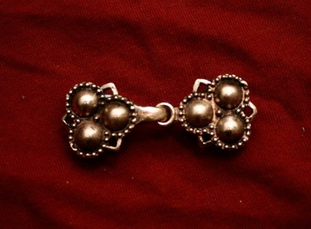 Medieval hooked-clasp, England eb18 by ArmourAndCastings