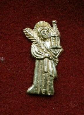 m54 Medieval piligrim badge
