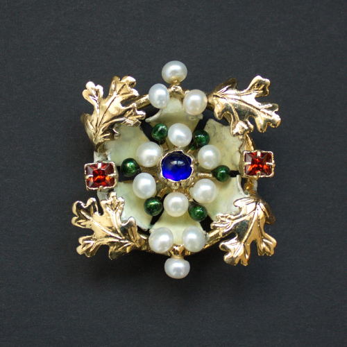 Medieval brooch from the Cleveland Necklace EA39