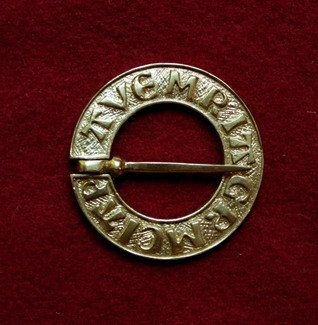 Medieval ring brooch, Netherlands EA12