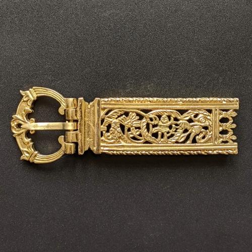 Medieval buckle with mount, Sweden EK130