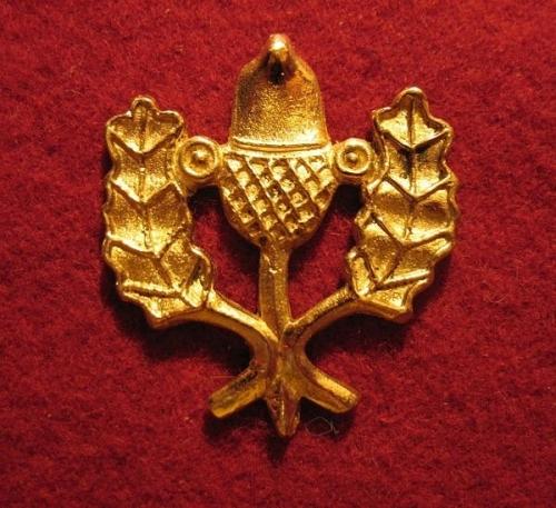 "M10 ""Oak leaves and Acorn"" Badge"