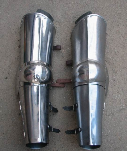 Simple plate leg armour