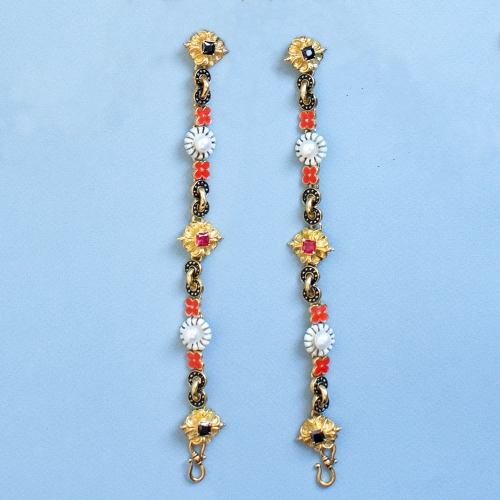 Thin chain from Elisabeth of Austria jewelry set