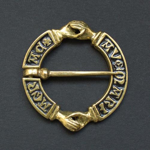 Medieval Fede brooch witn enamel,  Europe EA05E