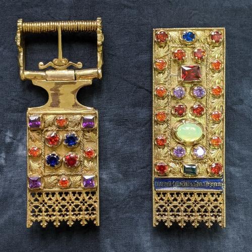 Small belt set of Elizabeth of Luxembourg