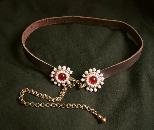 Medieval  belt for woman EBD11