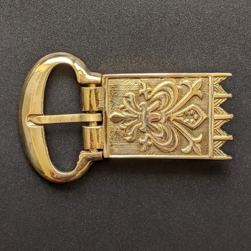 Medieval buckle with mount, Western Europe ek-ex35