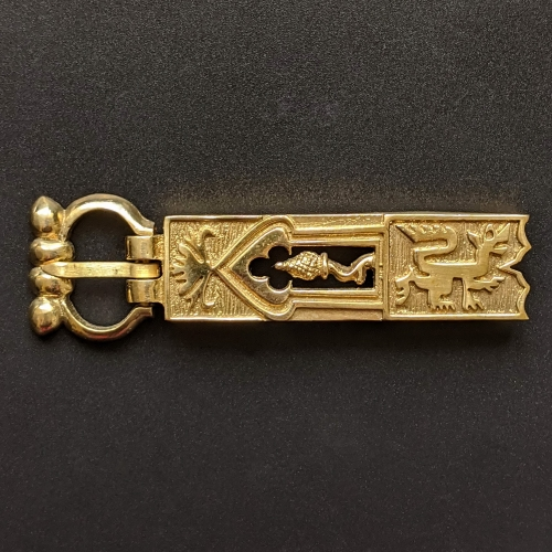 Medieval buckle with mount, England EK52