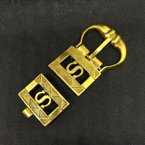 """""""S"""" Medieval belt set, England"""