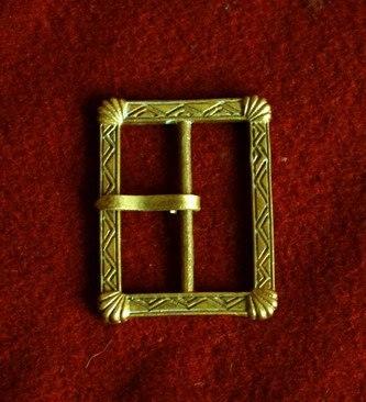 Medieval buckle, England E03-A by ArmourAndCastings