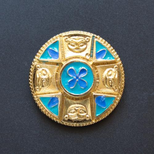 Saxon disc brooch RA33