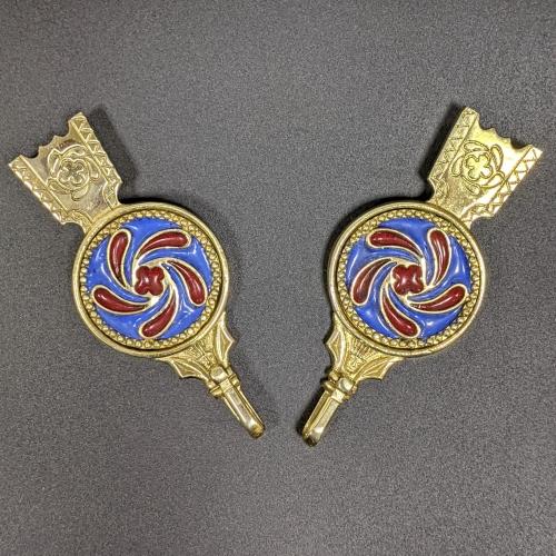 Medieval female belt strapends, Flanders EX42