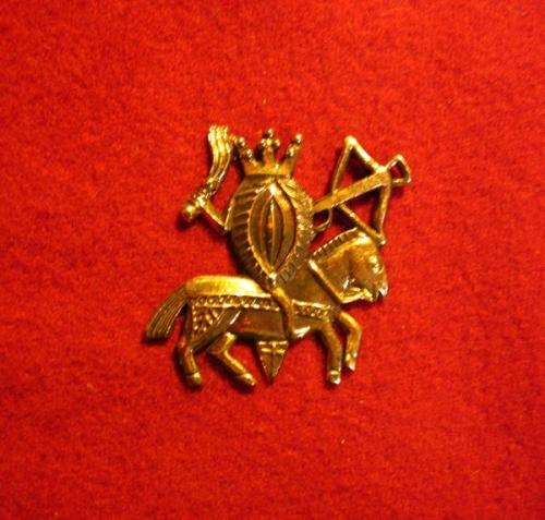 M30 Medieval carnival badge