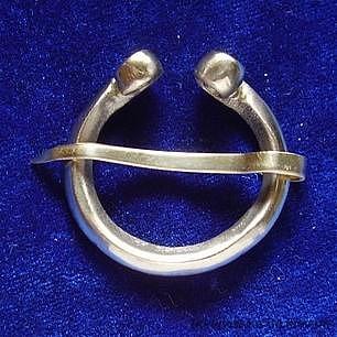 Scandinavian-Rus brooch ra01-1 by ArmourAndCastings