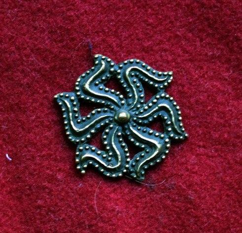 m88 Medieval piligrim badge