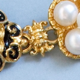 Small link from Elisabeth of Austria jewelry set