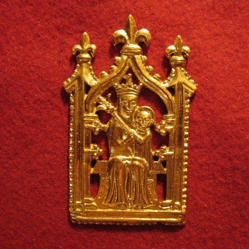 "M08  ""Our Lady Undercroft"" Badge"
