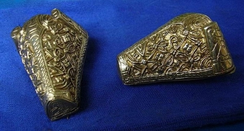 "Scandinavian brooch ""Bear's head"" ra17"