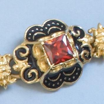 Gem link from Elisabeth of Austria jewelry set