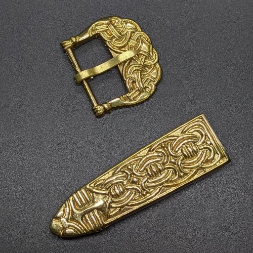 Scandinavian belt set, Borre style, Birka 10 c.