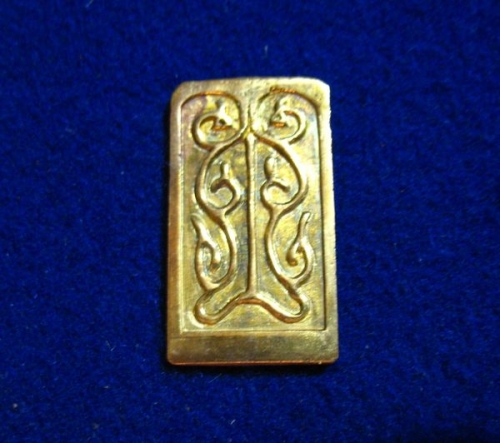 Chingul belt set strapend plate CH04-2