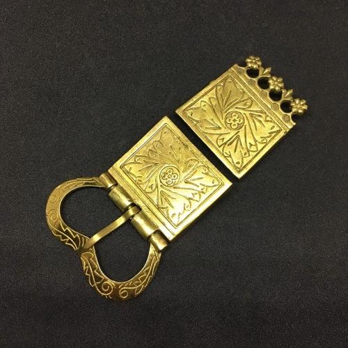 Medieval belt set, England, 14-15 c.