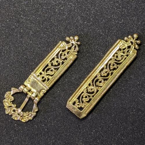 Medieval belt set, Germany