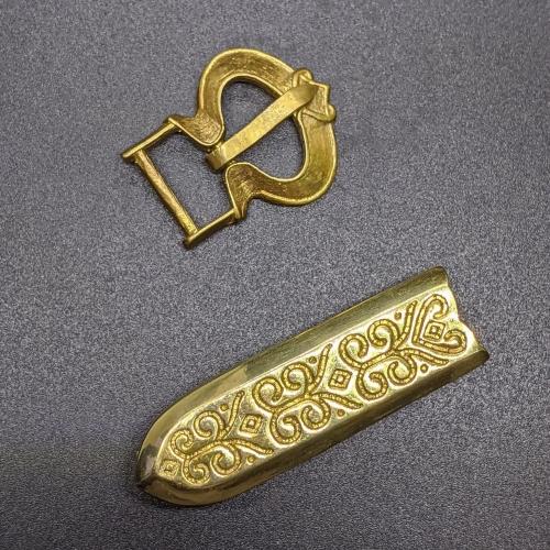 Rus small belt set,  Novgorod, 12 c.