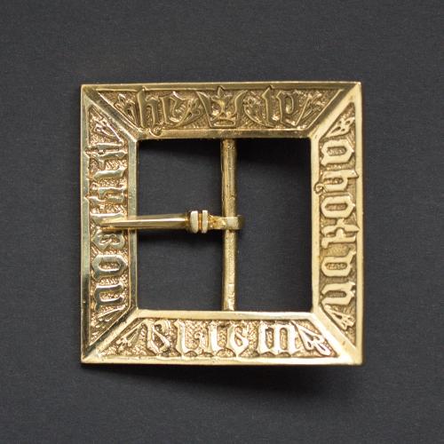 Medieval buckle, Sweden E37
