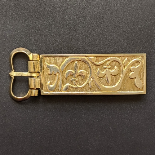 Medieval buckle with mount, Hungary EK66