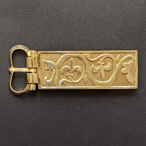 Medieval buckle with mount, Hungary EK70