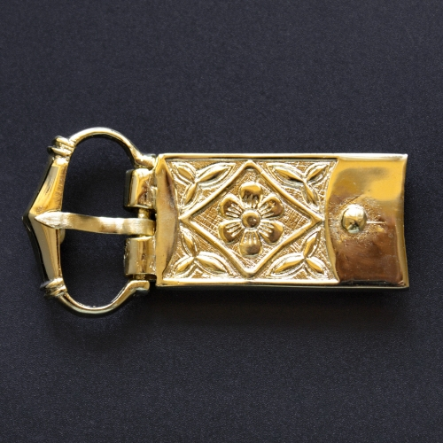 Medieval buckle with mount, England EK-Q5