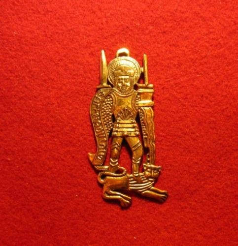 """M39 """"St.Adrian"""" medieval piligrim badge"""