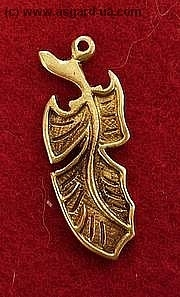 "TP06 ""Feather"" pendant"