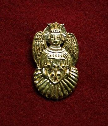 m84 Medieval piligrim badge