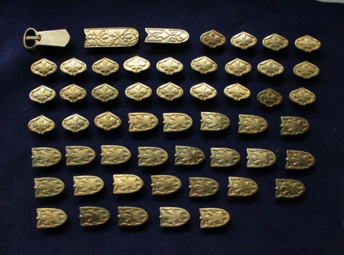 Belt Set from Birka, 9-10 c. Sweden