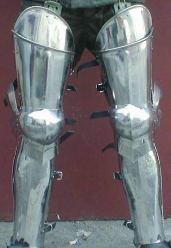 Milanese Plate legs