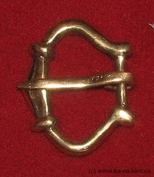 Medieval buckle, England E04-2 by ArmourAndCastings