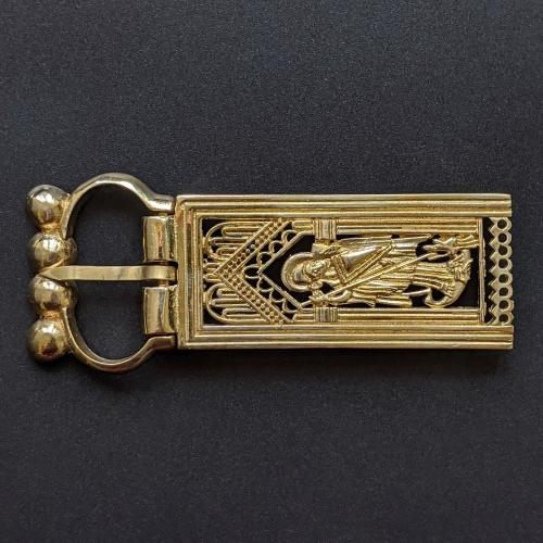 Medieval buckle with mount, Scandinavia EK67