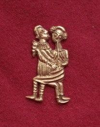 m66 Medieval carnival badge