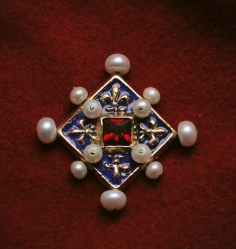 Medieval brooch, France EA19