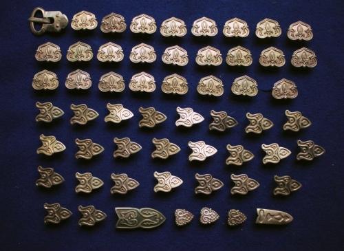 Belt Set Gnezdovo 160 burial
