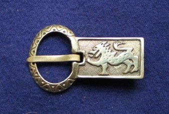 R33 Norman Belt Buckle