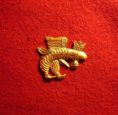 M23 Medieval carnival badge