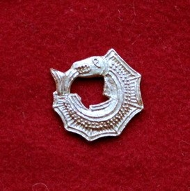 m73 Medieval piligrim badge
