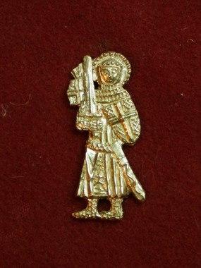 m78 Medieval piligrim badge