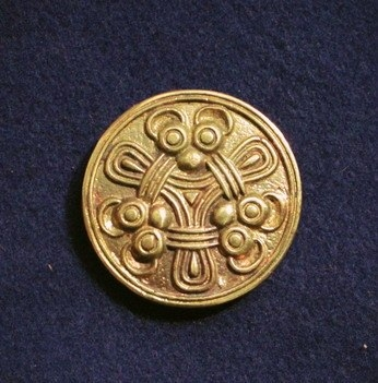 Viking disc brooch RA23